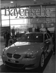 der Bayerische - National Capital Chapter, BMW CCA