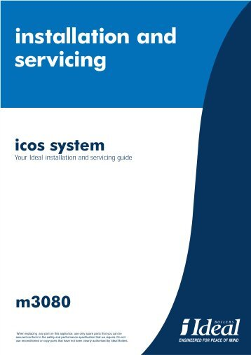 icos system m3080 - Ideal Heating