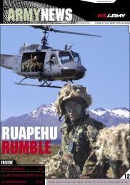 Army News Issue 371 - New Zealand Army
