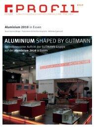 Aluminium 2010 - Gutmann AG