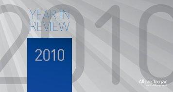 Year in review - 2010 - AllpakTrojan