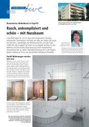 Mehrfamilienhaus in Visp/VS - R. Nussbaum AG