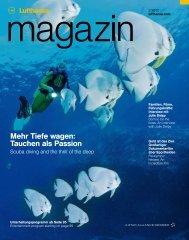 Mehr Tiefe wagen: Tauchen als Passion - Lufthansa Media Lounge ...