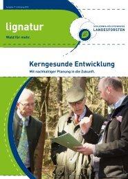 Ausgabe 11/Jahrgang 2012 - Schleswig-Holsteinische Landesforsten