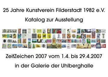 Katalog zur ZeitZeichen Ausstellung 2007 - ProMaMedia