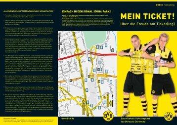 MEIN TICKET! - Borussia Dortmund