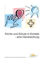 Kirche und Schule in Kontakt - BDKJ Rottenburg-Stuttgart