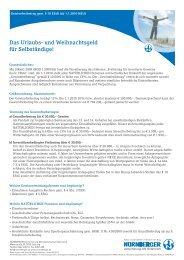 Gewinnfreibetrag gem. § 10 EStG - NÜRNBERGER Versicherung AG
