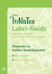 Label-Guide für Textilien, InNaTex
