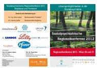 Folder - Psychosoziale Dienste in Wien
