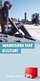 Kulturführer - SPD-Fraktion Bezirksversammlung Wandsbek