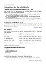 Grundlagen der Sprachdidaktik - Guido Nottbusch