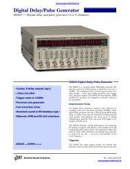 Digital Delay/Pulse Generator - Prager Elektronik
