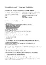 Protokoll der Generalversammlung 2012 als PDF-Datei - des ...