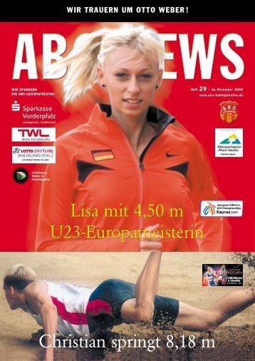 Ausgabe 29 – November 2009 - ABC-Ludwigshafen eV