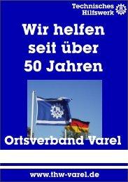 Wir helfen seit über 50 Jahren - THW OV Varel
