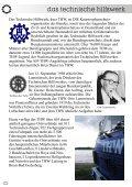 Wir helfen seit über 50 Jahren - THW OV Varel - Page 4