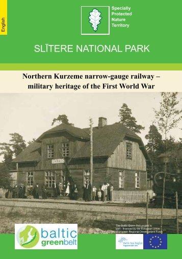 SLĪTERE NATIONAL PARK - baltic green belt