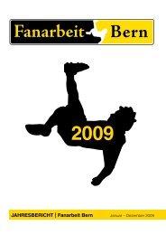 Jahresbericht 2009... - Fanarbeit Bern