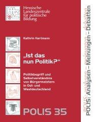 POLIS 35 - Hessische Landeszentrale für politische Bildung