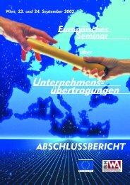 Europa - Enterprise DG - Europaisches seminar ... - EDZ-Bibliothek