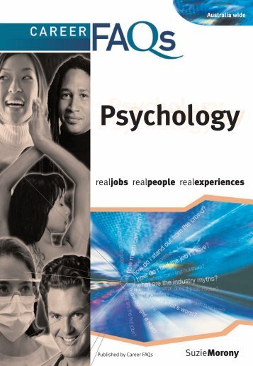 Psychology: Career FAQs - Auburn City Council - NSW Government