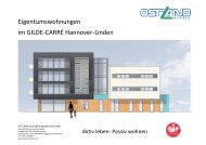 Eigentumswohnungen im GILDE-CARRÉ Hannover-Linden
