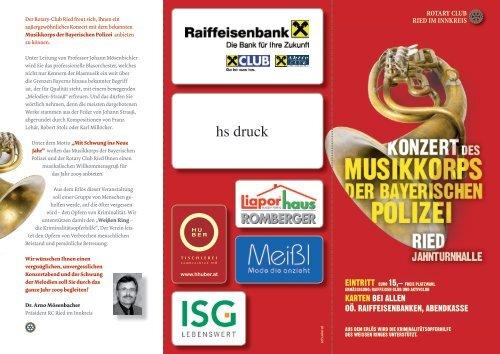 hs druck - Raiffeisenbank Region Ried