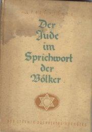 Page 1 Page 2 I-IIEMER Deïjude im Sprichwort der Völker 19-41 ...