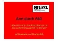 PowerPoint-Präsentation zum Thesenpapier - Fraktion DIE LINKE in ...