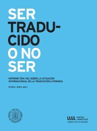 Formato PDF. Idioma Castellano - Institut Ramon Llull