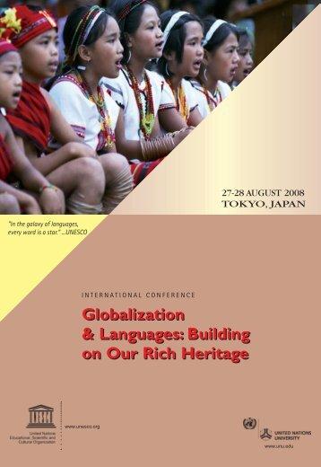 Building on our Rich Heritage - unesdoc - Unesco