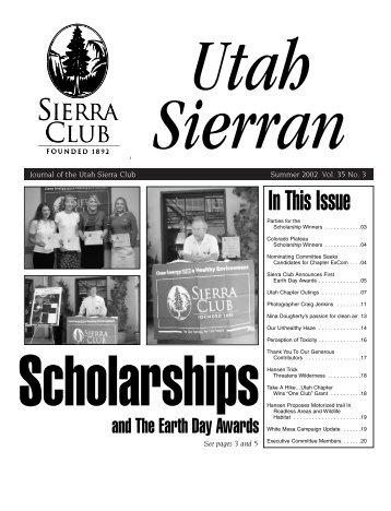Utah Sierra Summer 02 - Sierra Club
