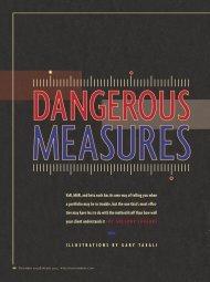 Dangerous Measures - PortfolioScience