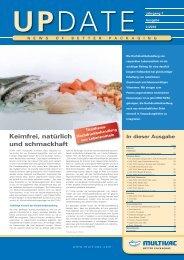 Kundenmagazin UPDATE 2/2010 - Als PDF downloaden - Multivac