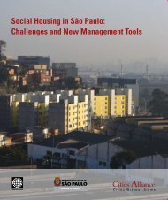 Social Housing in São Paulo: Challenges and New Management ...