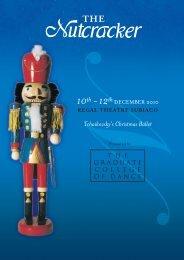 The Nutcracker Programme 2010 - IC-TECH
