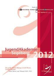 Download des Jahresprogrammes - Verein für Jugend