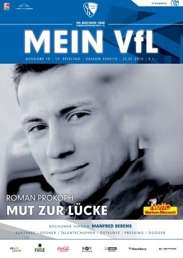 Mein VfL Heft10 web.ps, page 1-60 @ Normalize ... - VfL Bochum