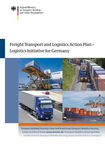 Freight Transport and Logistics Action Plan (pdf, 3