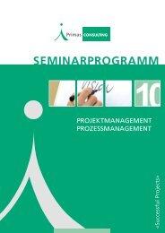 sEMINARPROGRAMM - Primas Consulting