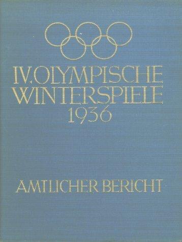 IV. Olympische Winterspiele 1936 part 1 - LA84 Foundation