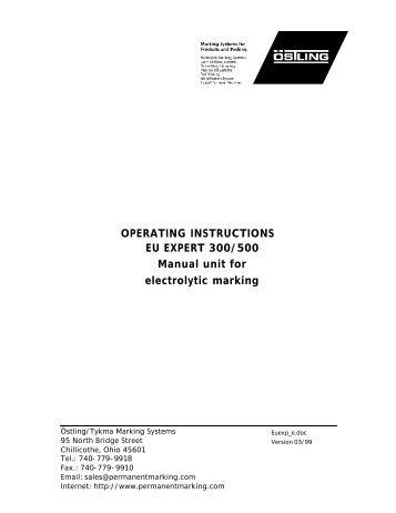 Friatec FRIAMAT Operating Instructions Manual