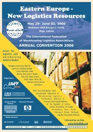 Eastern Europe - New Logistics Resources - LBS International ...