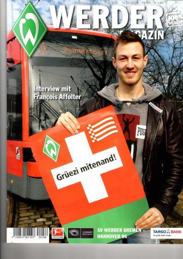 Werder Magazin - TSV Horst
