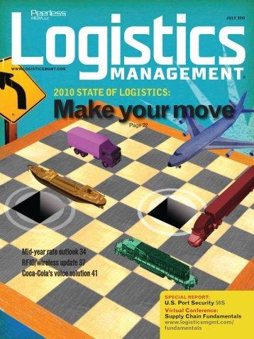 2010 STATE OF LOGISTICS - Logistics Management