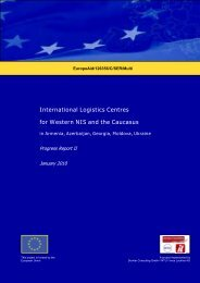 International Logistics Centres for Western NIS and the ... - TRACECA