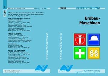 Erdbau-Maschinen M 250