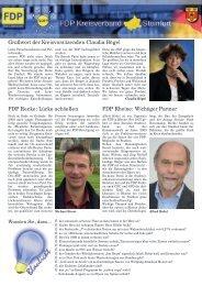 FDP Rheine - FDP Kreis Steinfurt