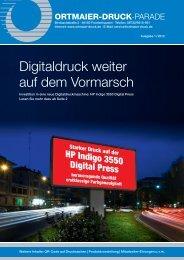 PDF der aktuellen Ausgabe - Ortmaier Druck